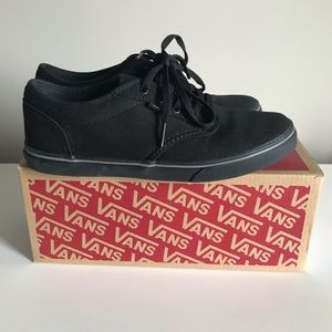 Black Vans Atwood Low Size 6